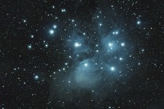 Pleiades open star cluster - Messier 45 (repotahvo) Tags: astrophotography stars star cluster pleaides m45 dso space universe cosmos deepspace constellation astrophoto astronomy longexposure stacking stack pixinsight astropixelprocessor ioptron skyguider skyguiderpro