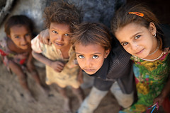 India, Gypsy kids in Kutch (Dietmar Temps) Tags: ahir asia asian beauty bhuj costume culture ethnic ethnicity face female gujarat gypsy harijan india indian jewelry kids lady megwal nomadic nomads people person poor portrait poverty rajasthan rannofkutch rural thardesert traditional tribe village young 35mm