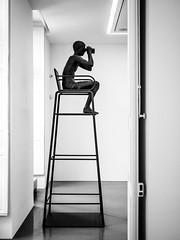 OnDuty.jpg (Klaus Ressmann) Tags: omd em1 fparis france interior klausressmann sculpture winter blackandwhite flicvarious gallery workofart omdem1