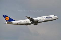 """Baden-Württemberg"" Lufthansa D-ABYG Boeing 747-830 cn/37831-1470 @ EDDF / FRA 18-09-2016 (Nabil Molinari Photography) Tags: badenwürttemberg lufthansa dabyg boeing 747830 cn378311470 eddf fra 18092016"