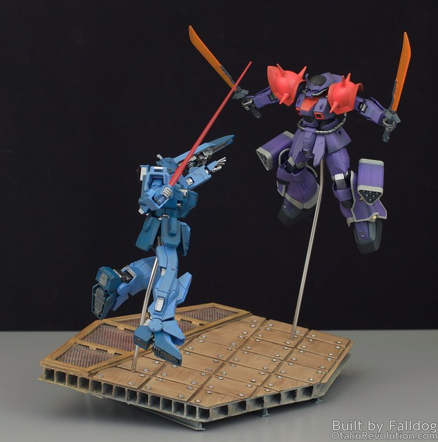 Blue Destiny vs Efreet Custom 2 by Judson Weinsheimer