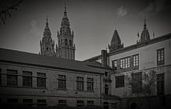 Torres de la catedral, Santiago de Compostela (Miguelanxo57) Tags: arquitectura torres catedral barroco santiagodecompostela acoruña galicia