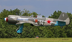 Yakovlev Yak-3  n° 25111/05  ~ F-AZNN / 14 (Aero.passion DBC-1) Tags: 2019 meeting fertéalais yakovlev yak3 ~ faznn aeropassion plane aircraft aviation avion david biscove