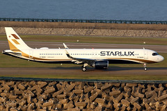 STARLUX Airlines | Airbus A321-200N | B-58201 | Macau International (Dennis HKG) Tags: starlux starluxairlines sjx jx taiwan aircraft airplane airport plane planespotting canon 7d 100400 macau vmmc mfm airbus a321 airbusa321 a321neo airbusa321neo sharklets a21n b58201
