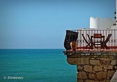 Street (Sitges) (Domènec CAT) Tags: calle sitges mediterráneo pareja mar mirador cañón vistas costa cataluña street mediterranean partner sea lookout canyon views coast catalonia
