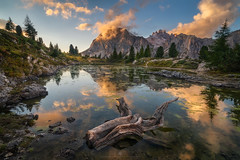 Lago di Limides (Alexander Lauterbach Photography) Tags: dolomites dolomiten limides lago lake sunset mountains italy sony a7r landscape nature