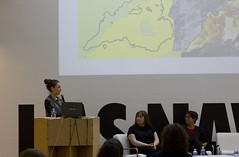 Clara Molinicos, Mesa Propuestas de conciencia medioambiental desde el Bio Arte