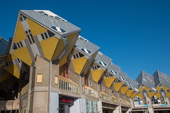 Kijk-Kubus Rotterdam (vmandyev) Tags: rotterdam travel netherland architecture blue nikon nikond5500 tamron kijkkubus house cube