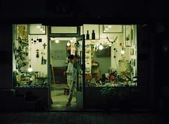:z (june1777) Tags: snap street alley seoul night light bokeh mamiya 645 pro tl 80mm f19 kodak portra 800 filmshoot