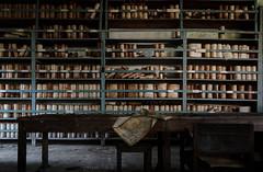 I neverd doubt patterns. (Fragile Decay) Tags: forbidden forgotten factory empty exploring fragiledecay scrolls closet storage
