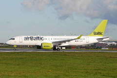 YL-AAT CS300 AirBaltic (eigjb) Tags: jet airliner transport aircraft airplane aeroplane aviation plane spotting ylaat bombarider airbus cs300 a220 a220300 bcs3 air baltic eidw dublin international ireland collinstown airport