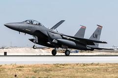 91-0604 / United States Air Force / McDonnell Douglas F-15E Strike Eagle (Charles Cunliffe) Tags: canon7dmkii aviation konyaairport ltan kya unitedstatesairforce usaf mcdonnelldouglasf15 mcdonnelldouglasf15estrikeeagle 910604