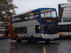Stagecoach Scania N94UD (East Lancs Omnidekka) 15401 KX04 RCV (Alex S. Transport Photography) Tags: bus outdoor road vehicle stagecoach stagecoachmidlandred stagecoachmidlands scania n94ud eastlancsomnidekka eastlancs elc route6 15401 kx04rcv