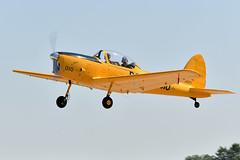 2AA_2664 (chris murkin) Tags: ouas aircraft airshow airventure eaa plane prop canada trainer de havilland dhc1 chipmunk n26jh 18010 dehavilland rcaf oshkosh