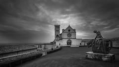 San Francesco, Assisi (bw) (vohiwa) Tags: assisi italien italy franziskus francesco church kirche