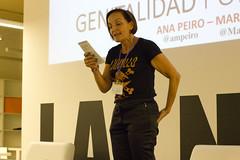Monólogo Genitalidad por la igualdad con Marie Gombert y Ana Peiró.