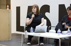 María Castellanos, Mesa Propuestas de conciencia medioambiental desde el Bio Arte