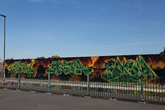Freedom Fighters (SReed99342) Tags: london uk england graffiti streetart freedomfighters mural
