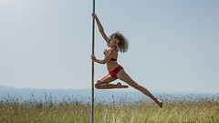 (dimitryroulland) Tags: nikon d750 85mm 18 dimitryroulland performer art flexible flexiblity poledance poledancer pole dance dancer nature natural light pointe