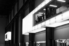 Cubicle (sdupimages) Tags: noirblanc noiretblanc blackwhite bw nb monochrome street rue london londres musée museum