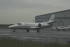 Mail Handling International Cessna C550 Citation G-MHIS (Rob390029) Tags: mail handling international cessna c550 citation gmhis newcastle airport ncl egnt