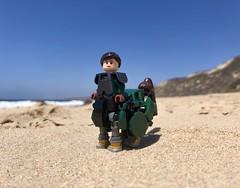 Shores of Avalonia (socalbricks) Tags: centaur lego lcentauress avalonia guildsofhistorica historica fantasy myth beach minifigure