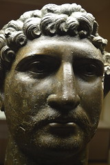 Headrian (dhcomet) Tags: hadrian roman statue head bronze british museum london bloomsbury