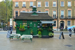Salt Beef In The Rain (dhcomet) Tags: russell square cabmens shelter london food rain wet winter