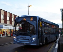 385 on Purple Line 87 (timothyr673) Tags: 385 enviro200 e200 alexanderdennis adl bus dart nct silverspare nottinghamcitytransport purple spare yx63lja
