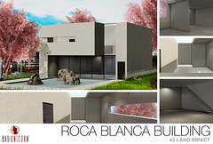 NEW! Roca Blanca Building @ FaMESHed (Bhad Craven 'Bad Unicorn') Tags: modern concrete home house building glass rocks blanco rocky rock white cream pool 3d art artist gfx graphic design bhadcraven badunicorn unicorns unicorn bad bhad craven secondlife second life sl mesh meshed decor decorative decors garden gardens homes houses builds buildings cool dope