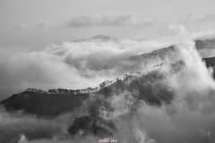 Iograph ridge in the clouds (zaxarou77) Tags: iograph ridge clouds russia crimea landscape natural bw black white blackwhite monochrome rock three forest fantastic sony ilce a7 a7m2 laea4 minolta 100200 100200mm f45 zoom lens