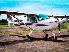 B&F FK9 Mark IV PU-RAB (camargsen) Tags: aeroclube aeronave aircraft airplane ultralight ultraleve avião aviação aviation experimental bf fk9 markiv aeroclubedenovohamburgo planespotting plane