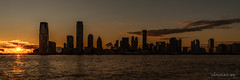 Sunset on New-Jersey (USA) (christian.rey) Tags: sunset newjersey newyork city nyc sony alpha a7r2 a7rii 1635 skyline hudsonriver
