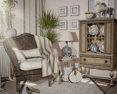 💌 Memórias de Portugal (sushiforbreakfastResident) Tags: sl secon life decor interior design home garden lusitanian style kraftwork dust bunny apple fall furnitures couch virtual guitar picture flickr frames secondlife second living enjoy man woman blog blogging blogger