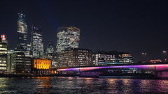Wonderful Crazy Night (sdupimages) Tags: reflection panorama cityscape landscape night nightscape nuit light lumières londres london ville street rue