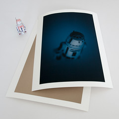 unique prints i've made back in the days (jooka5000) Tags: starwars lookingback ofyourwork silkscreen prints original unique