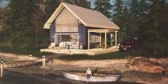 Chalet Californien (Valenska Voljeti) Tags: secondlife sl lapetitevie homegarden house prefab chalet cabin