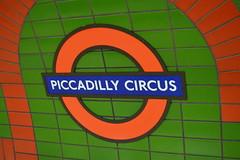 One Ring Circus (dhcomet) Tags: bakerloo piccadilly station lt lu tfl roundel tube garish green london transport