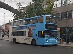 NX Coventry 4408, BV52OCC - 21 (King Flick) Tags: nx national express coventry cov 4408 bv52occ uk city centre willenhall 21 trinity street st sainsburys alx400 alx 400 alexander dennis bus bas boos trident 2