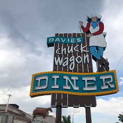 Davies' Chuck Wagon Diner (jericl cat) Tags: denver colorado davies chuck wagon diner cowboy neon man figure restaurant eatery vintage colfax