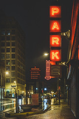 Park (Anthonypresley1) Tags: night memphis city tennessee landmark travel cityscape usa american architecture skyline urban landscape tn america downtown view street twilight tourism dusk blues scene southern place scenic bridge road lights sunset river district location music evening famous aerial mississippi buildings beale sky south clubs avenue nightlife transportation bars restaurants neon business anthonypresley anthony presley