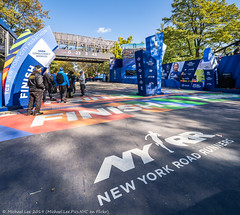 Finish Line (20191102-DSC08049-Pano) (Michael.Lee.Pics.NYC) Tags: newyork centralpark marathon finishline race newyorkroadrunners tcs course sony a7rm4 laowa12mmf28 magicshiftconverter
