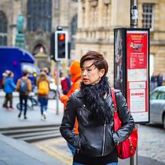 Street shot (Michael Erhardsson) Tags: street people scotland 2019 woman edinburgh