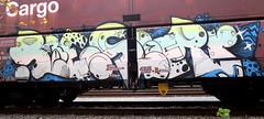 Graffiti in Freights (wojofoto) Tags: amsterdam nederland netherland holland cargotrain güterzug vrachttrein freighttraingraffiti freighttrain freights fr8 graffiti streetart wojofoto wolfgangjosten reser