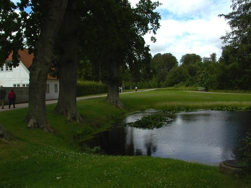 Pond Near Palace