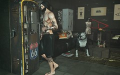 † 1099 † (Nospherato Destiny) Tags: secondlife clavv narcissus gutchi rezzroom serenitystyle mancave male beard guy virtual sl