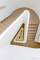 Relativity (bjoernahrensfotografie) Tags: hamburg architecture architektur lookup lookdown minimal abstract spiral staircase stairs treppe treppenhaus escalier