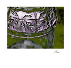 Rose's Marmalade Jar (jesse1dog) Tags: russian 2850mm bokeh vintageprime gm1 roses marmalade jar green metallic tabletop industar61lz sliderssunday