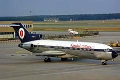 Istanbul Airlines Boeing 727-230(Adv) D-ABRI (gooneybird29) Tags: flugzeug flughafen aircraft airport airplane airline fra boeing lufthansa 727 istanbulairlines dabri