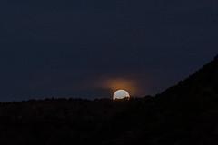 DSCF5543 (LEo Spizzirri) Tags: am dawn gorge hike moon moonset morning newmexico nm orillaverde orillaverderecreationarea riograndedelnortenationalmonument riograndegorge southwest sunrise